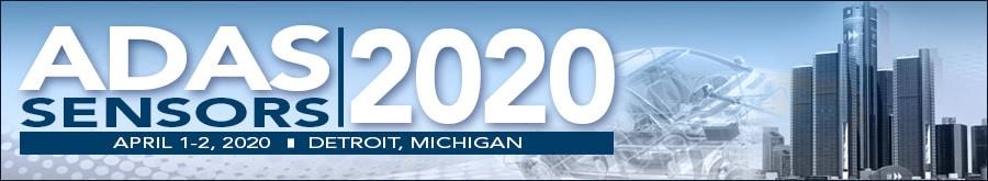 ADAS Sensors 2020 banner