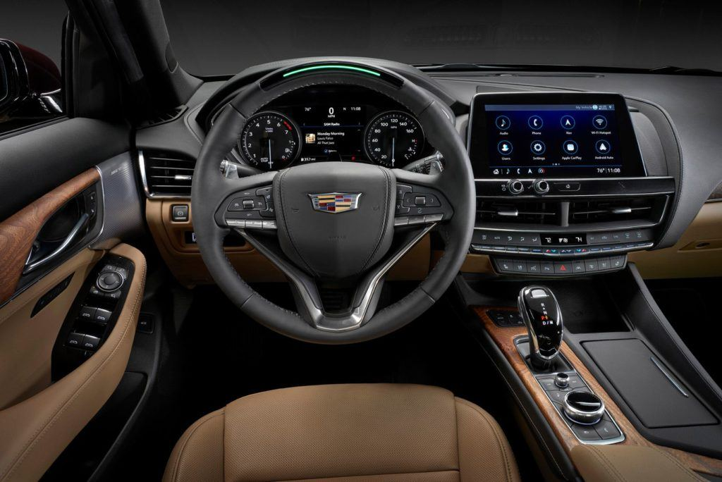 Cadillac CT5 with Super Cruise.