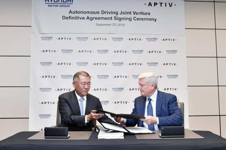 Aptiv & Hyundai Complete New Automated Driving Joint Venture 20