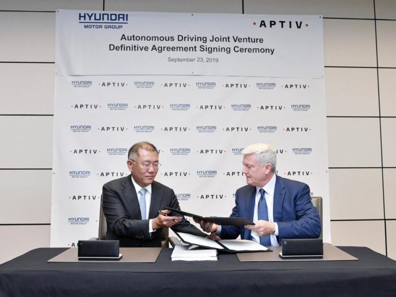 Aptiv & Hyundai Complete New Automated Driving Joint Venture 16