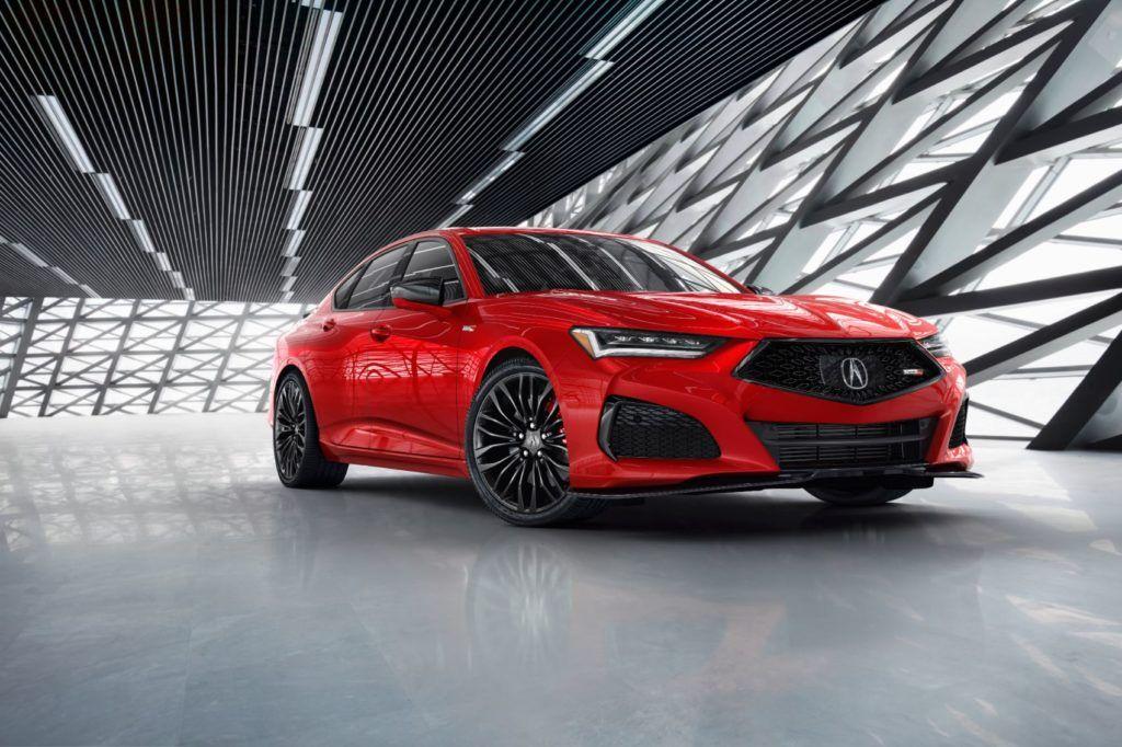 2021 Acura TLX Type S.