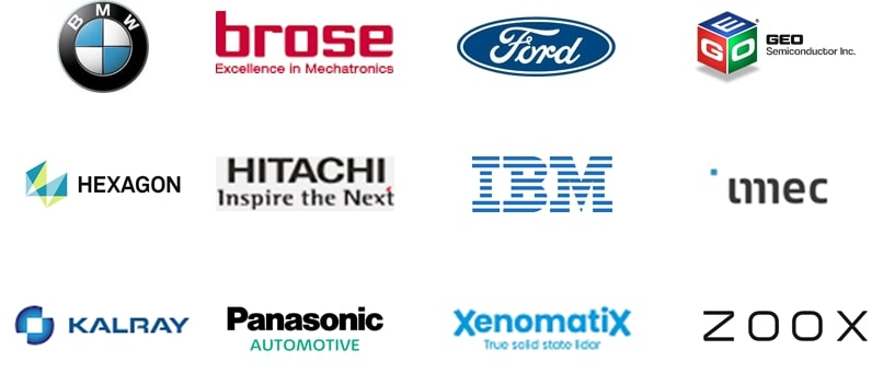 Current Innovation Hunters scheduled to participate in AutoSensMATCH.
