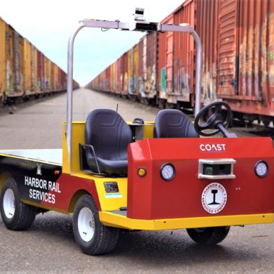 COAST Autonomous Deploys Leddar Pixell Technology for Rail Yard Automated Delivery Vehicle 16