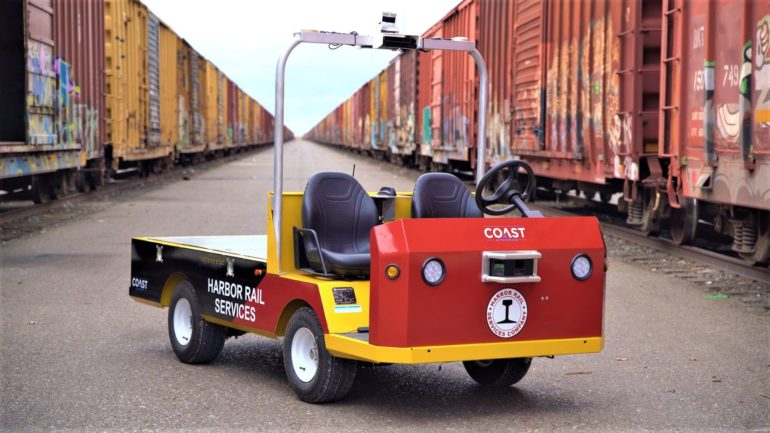 COAST Autonomous Deploys Leddar Pixell Technology for Rail Yard Automated Delivery Vehicle 15