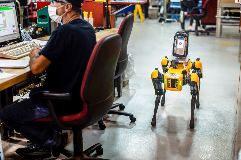 Meet Fluffy, Ford's New Robotic Pup That Scans Factories for Retooling 19