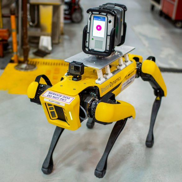 Meet Fluffy, Ford's New Robotic Pup That Scans Factories for Retooling 26