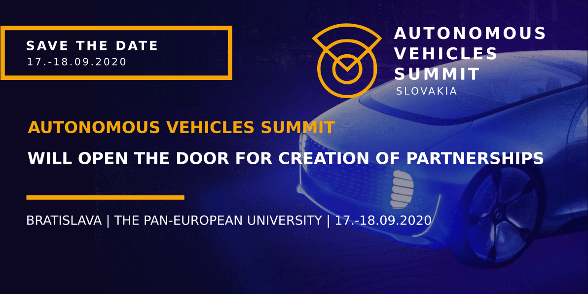 Autonomous Vehicles Summit Slovakia