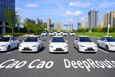 DeepRoute & Cao Cao Mobility to Debut New Robo-Taxi Fleet During 2022 Asian Games 18