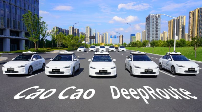 DeepRoute & Cao Cao Mobility to Debut New Robo-Taxi Fleet During 2022 Asian Games 15