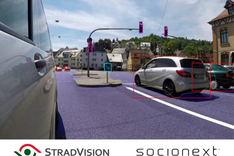 StradVision & Socionext to Collaborate on New Object Recognition Technology for the ADAS Market 17