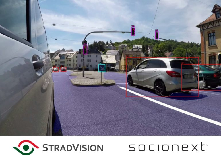 StradVision & Socionext to Collaborate on New Object Recognition Technology for the ADAS Market 16