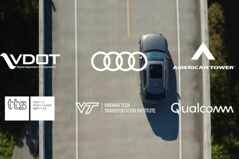 Audi Collaborates to Deploy C-V2X Communication Technology on Virginia Roadways 22