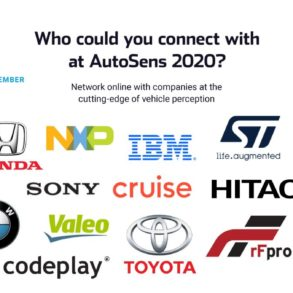 Brussels Agenda for AutoSens 2020 to Feature 45 Technical Presentations & Unique Matchmaking Session 19