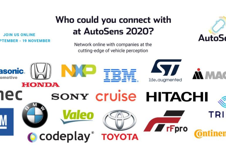 Brussels Agenda for AutoSens 2020 to Feature 45 Technical Presentations & Unique Matchmaking Session 26