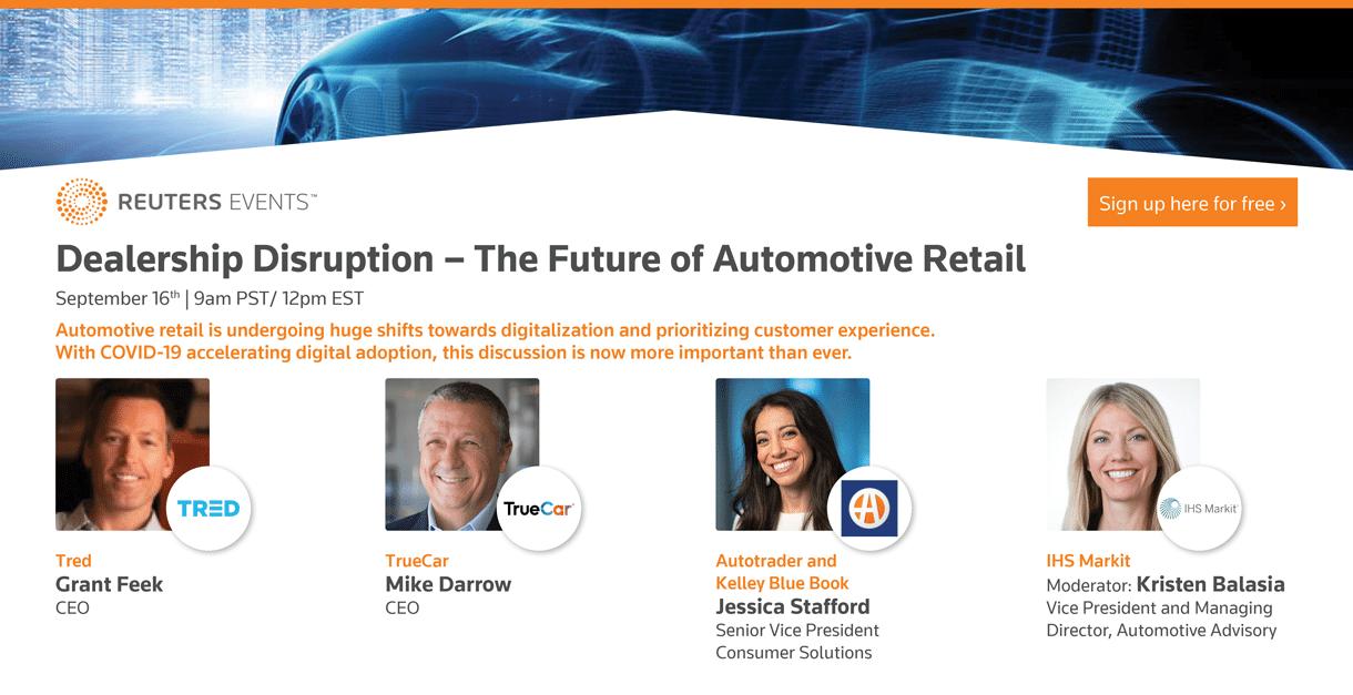 Dealership Disruption Webinar - Reuters Events