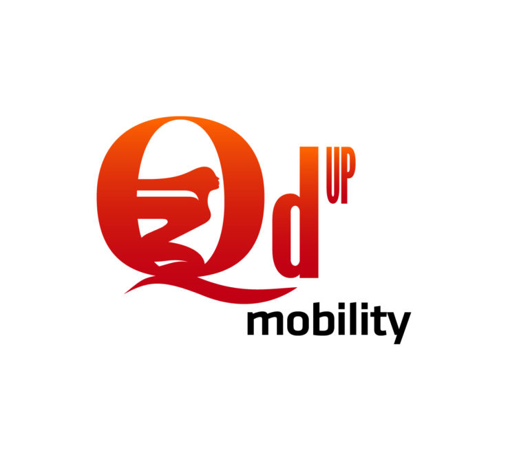 Q'd Up Mobility Logo