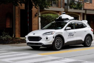 How Ford's New Test Vehicle Lays the Foundation for the Automaker's Self-Driving Business 16