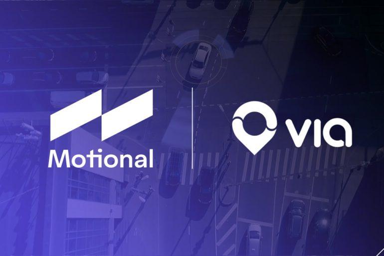 Motional & Via Announce New On-Demand Robotaxi Service 24