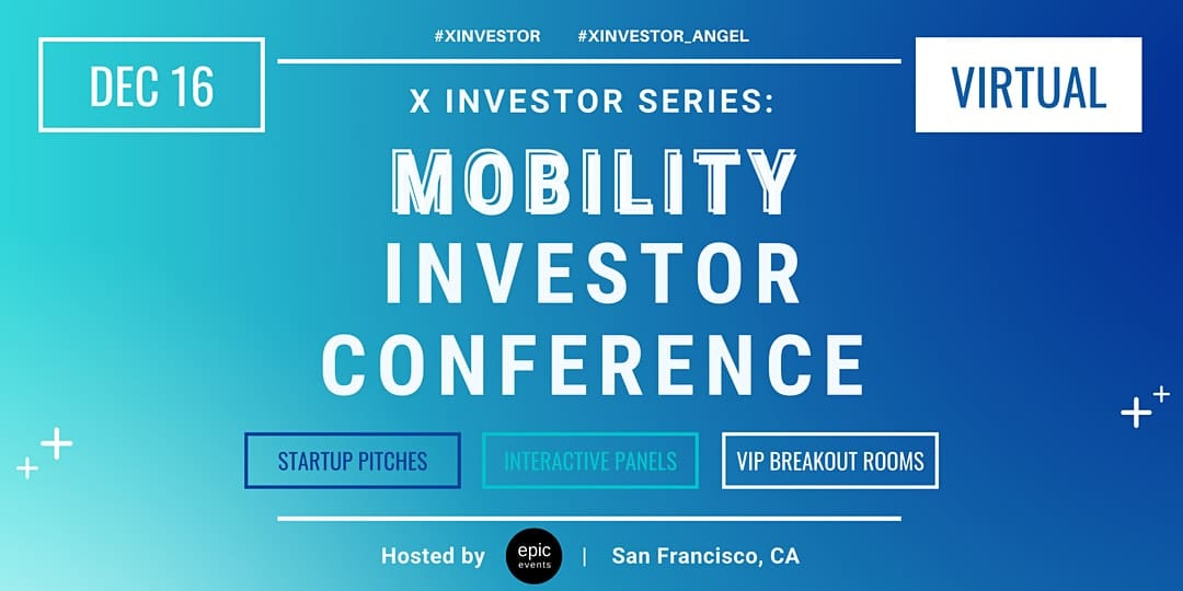 X Investor Series Mobility Investor Conference