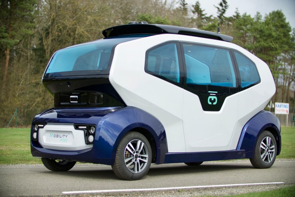 MILLA Group Selects Leddar Pixell Technology for MILLA POD Autonomous Shuttle 18