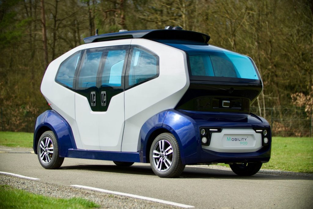 MILLA Group Selects Leddar Pixell Technology for MILLA POD Autonomous Shuttle 21