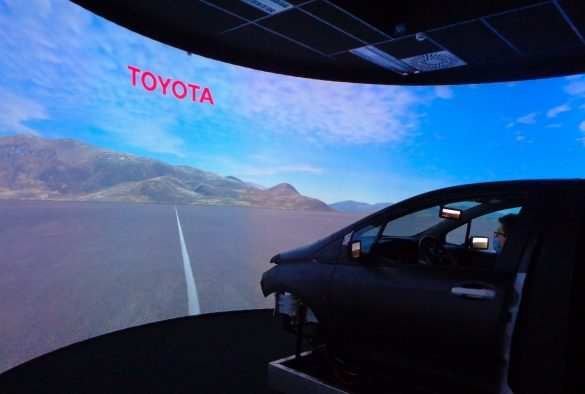 Toyota Motor Europe Selects rFpro Software for New Brussels Simulation Center 26