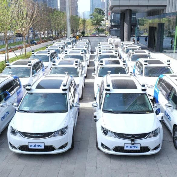 New Video From AutoX Shows Driverless Robotaxi Service Operating in Shenzhen, China 23