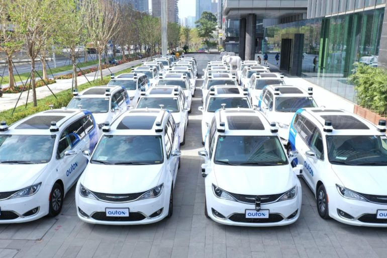 New Video From AutoX Shows Driverless Robotaxi Service Operating in Shenzhen, China 24