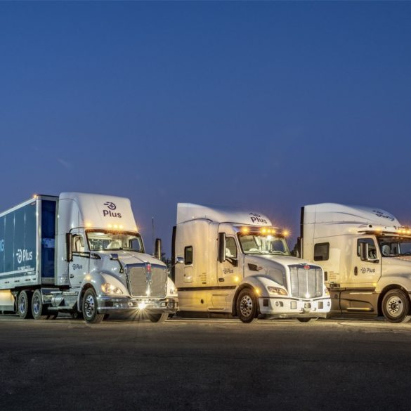 Self-Driving Truck Company Plus Upsizes Recent Fundraising Efforts to $420 Million 27