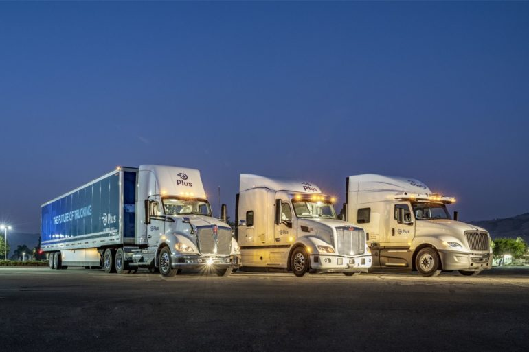 Self-Driving Truck Company Plus Upsizes Recent Fundraising Efforts to $420 Million 28