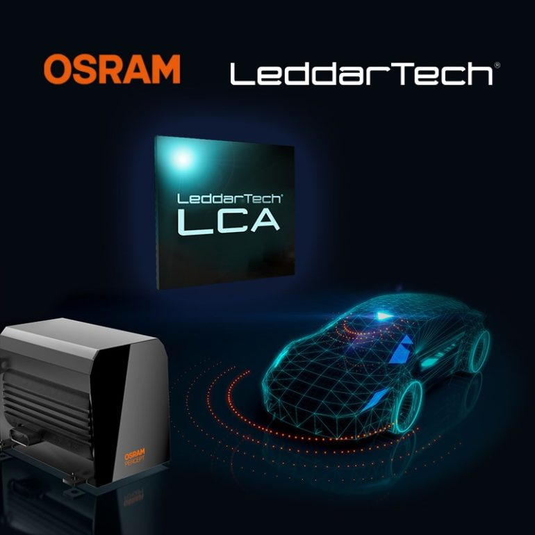 LeddarTech & OSRAM Sign Commercial Agreement for Automotive LiDAR & ADAS Development 16