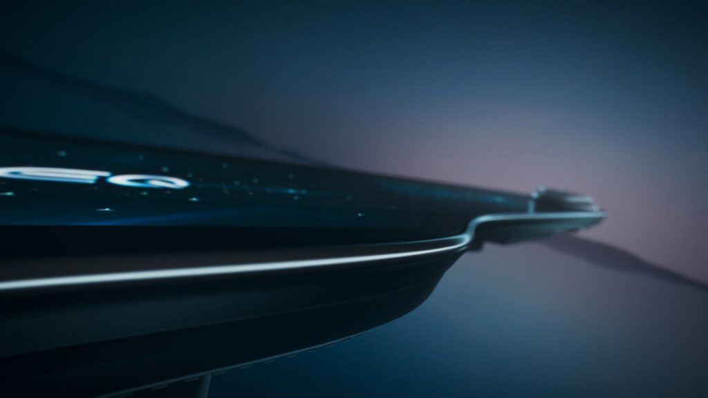 Mercedes-Benz Debuts New MBUX Hyperscreen for All-Electric EQS 22