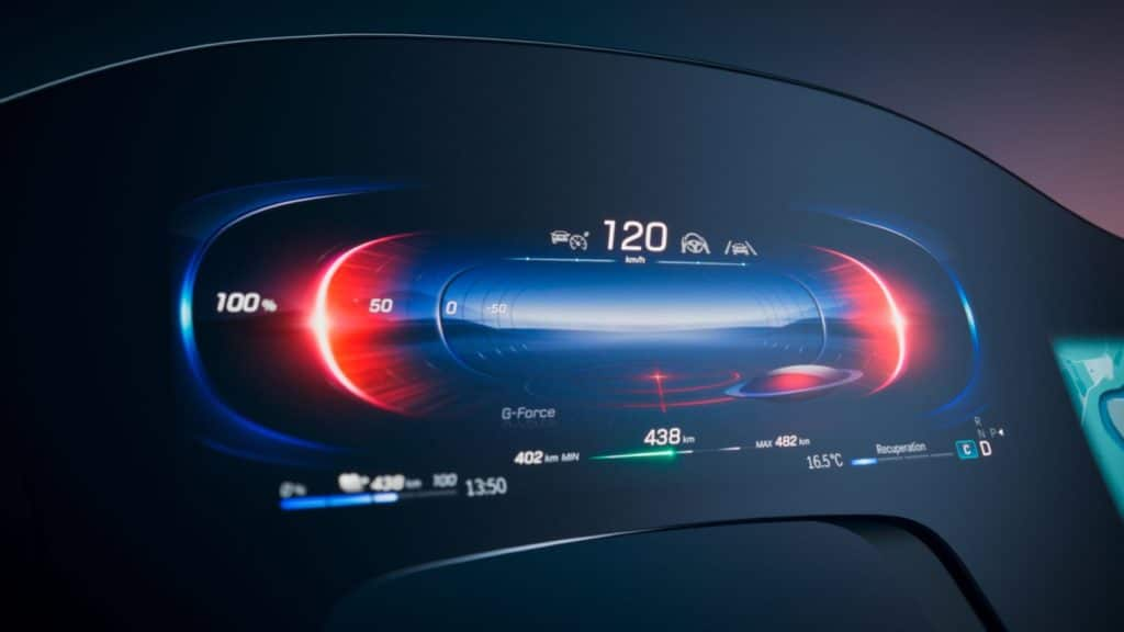 Mercedes-Benz Debuts New MBUX Hyperscreen for All-Electric EQS 20