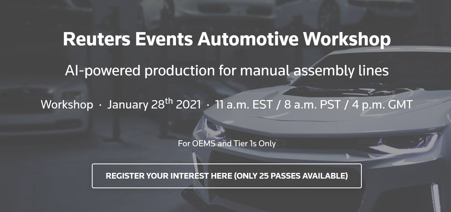 Reuters Events Automotive Workshop