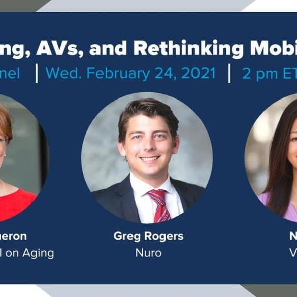 Aging, AVs, and Rethinking Mobility