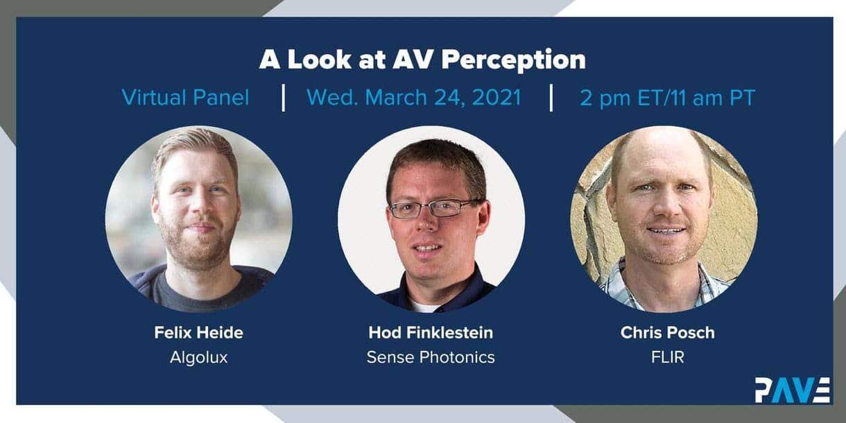 A Look at EV Perception