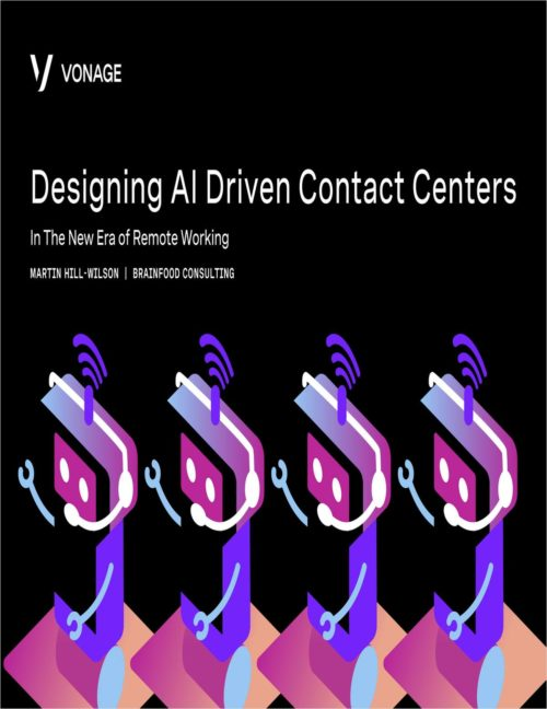 Whitepaper: Designing AI Driven Contact Centers 16
