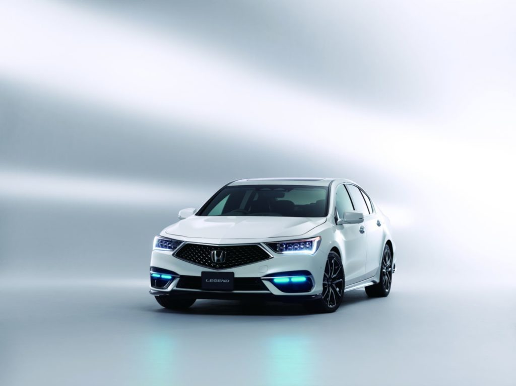 Honda Legend Hybrid EX with Honda Sensing Elite.