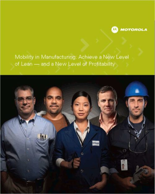 Free Whitepaper: Mobility in Manufacturing: Achieve a New Level of Lean – and a New Level of Profitability 17
