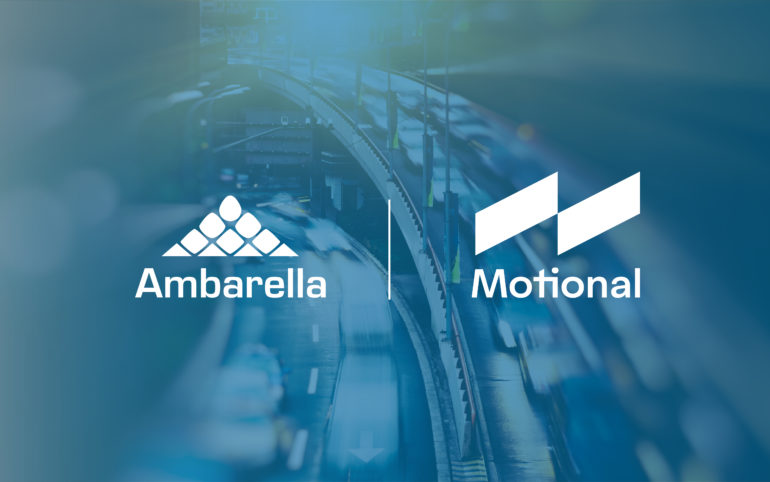 Motional Selects Ambarella's CVflow AI Vision Processors for its Driverless Vehicles 16