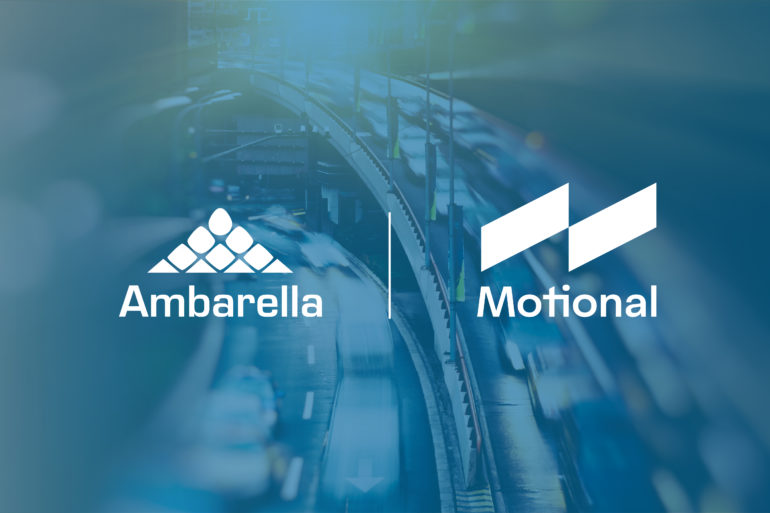 Motional Selects Ambarella's CVflow AI Vision Processors for its Driverless Vehicles 21