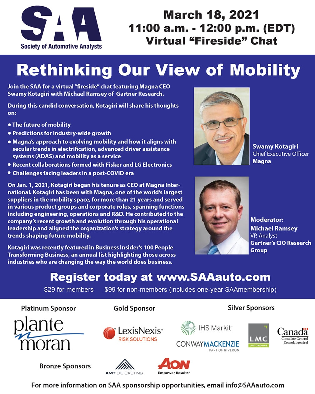 Rethinking Our View of Mobility Virtual Fireside Chat
