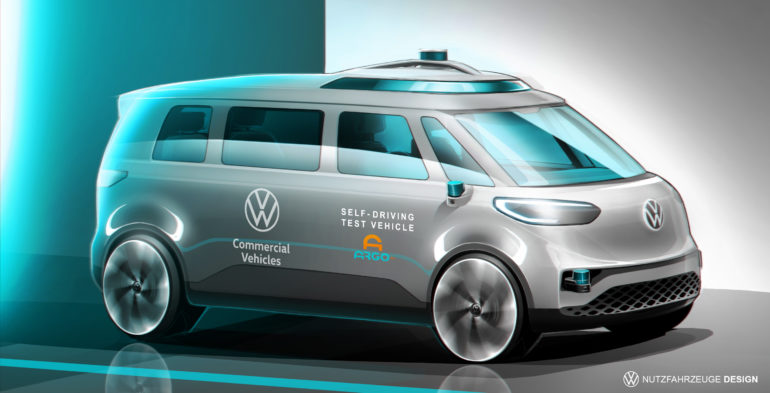 Volkswagen Commercial Vehicles Announces Autonomous Driving R&D for Mobility as a Service 16