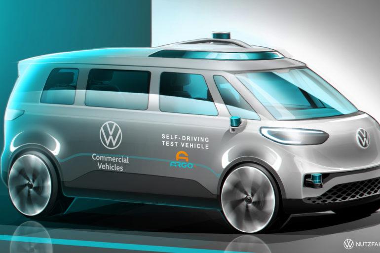 Volkswagen Commercial Vehicles Announces Autonomous Driving R&D for Mobility as a Service 21