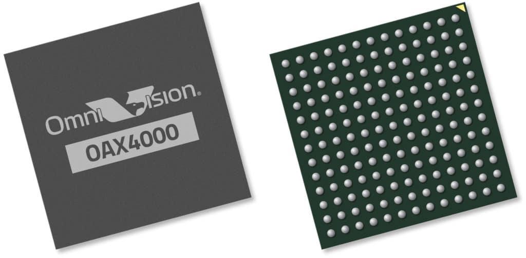 OAX4000 Automotive Image Signal Processor.