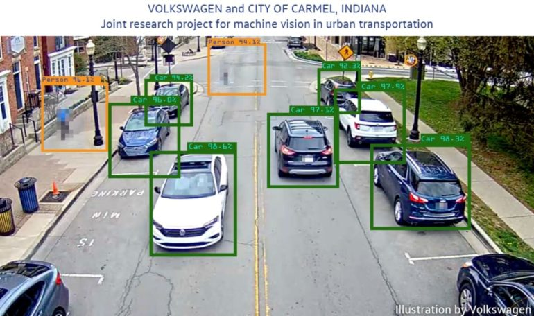 VW Teams With Carmel, Indiana, to Test Machine Vision Software for Traffic Flow Optimization 16