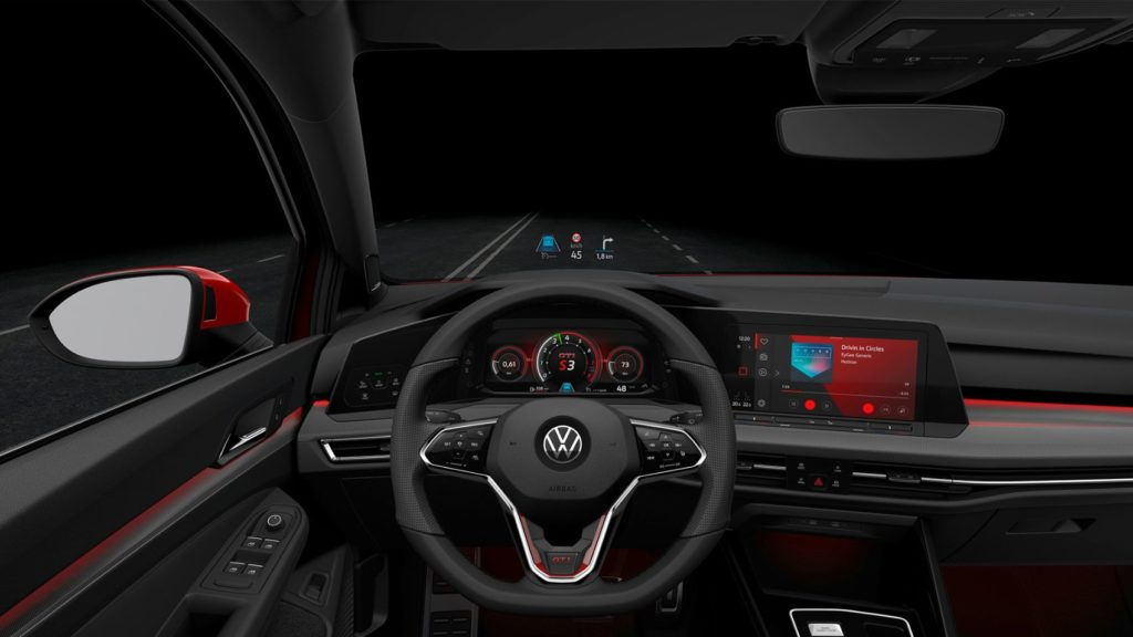 Merging Performance & Connectivity: Inside The New Digital Cockpit of The Volkswagen Golf GTI & Golf R 24