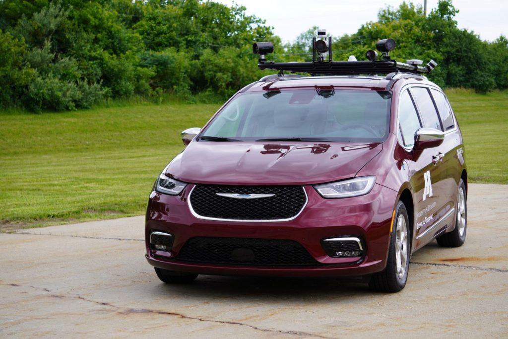 Dataspeed Chrysler Pacifica AV for University of Minnesota students.