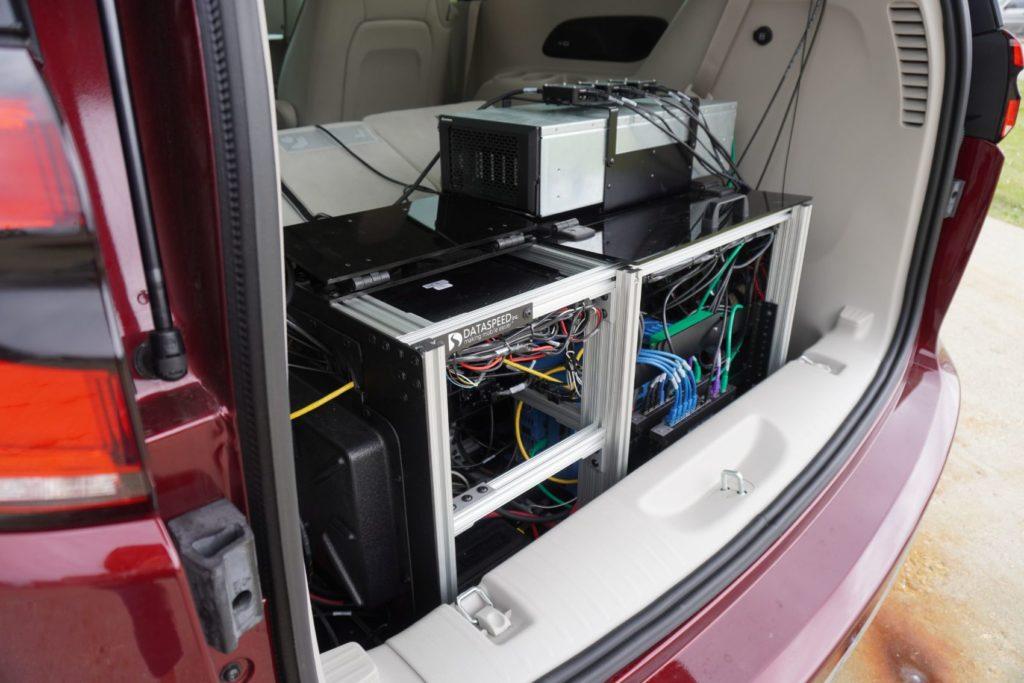 Project Highlight: Dataspeed AV Build for University of Minnesota Students 20