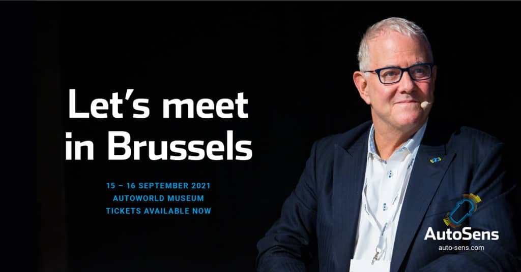 AutoSens Agenda for Brussels 2021 to Cover New Sensor Technology, In-Cabin Applications, Machine Learning, LiDAR & More 17
